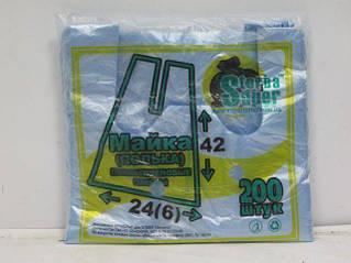 Пакет майка фасовочная №24*42