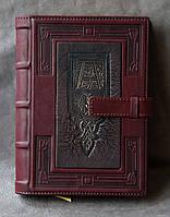 Кожаный Ежедневник формата А5 в кожаной обложке 2
