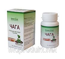 Березовий гриб Чага для профілактики онкозахворювань 90 таблеток Гринсет
