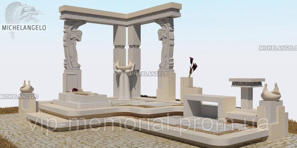 Мраморный памятник М-589