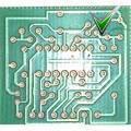 PCB плата  - светодиодный индикатор напряжения PCB126
