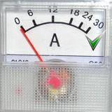 Амперметр 91C16 0-30А  без шунта