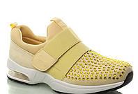 Желтые кроссовки женские 36-41р