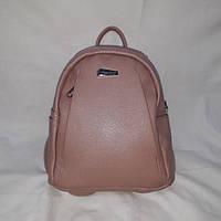 Розовый маленький женский рюкзачок, фото 1