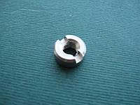 DIN 546 (ГОСТ 10657-80) - нержавеющая гайка круглая со шлицем на торце, фото 1