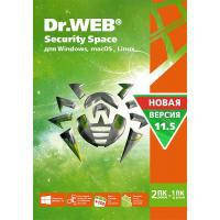 Антивирус Dr. Web Security Space 11, 2 ПК 2 года (BHW-B-24M-2-A3)