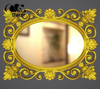 Зеркало настенное Valencia в золотой раме
