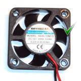 Вентилятор SD4010M1S 0.08А DC12V