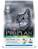 Сухой корм для стерилизованных котов Purina Pro Plan Sterilised Cat Rabbit с кроликом 10 кг