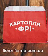 Упаковка для картошки фри (мини) 105х120х0 мм (1000 шт)