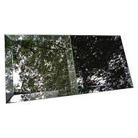 Зеркальная плитка зеленая, бронза, графит 212*212 фацет 15мм
