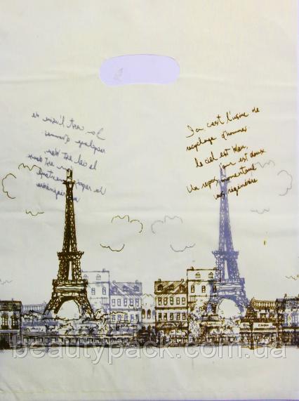 Пакет полиэтиленовый Банан Париж 30 х40 см / уп-100шт