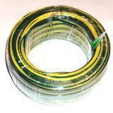 Провод монтажный ПВ3 0,35кв.мм., жёлто-зелёный