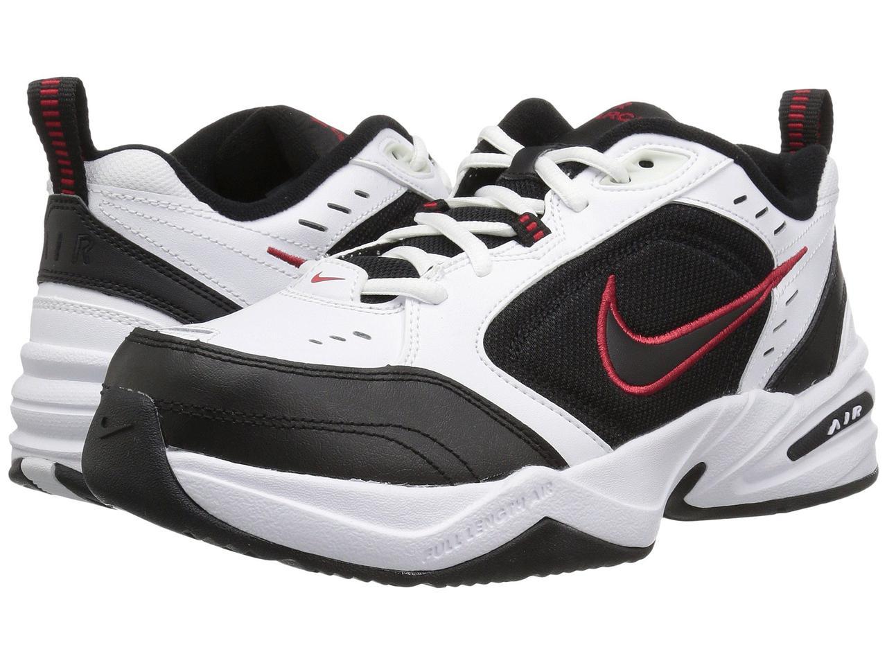 083dba4b5fdf Кроссовки Кеды (Оригинал) Nike Air Monarch IV White Black-Varsity ...