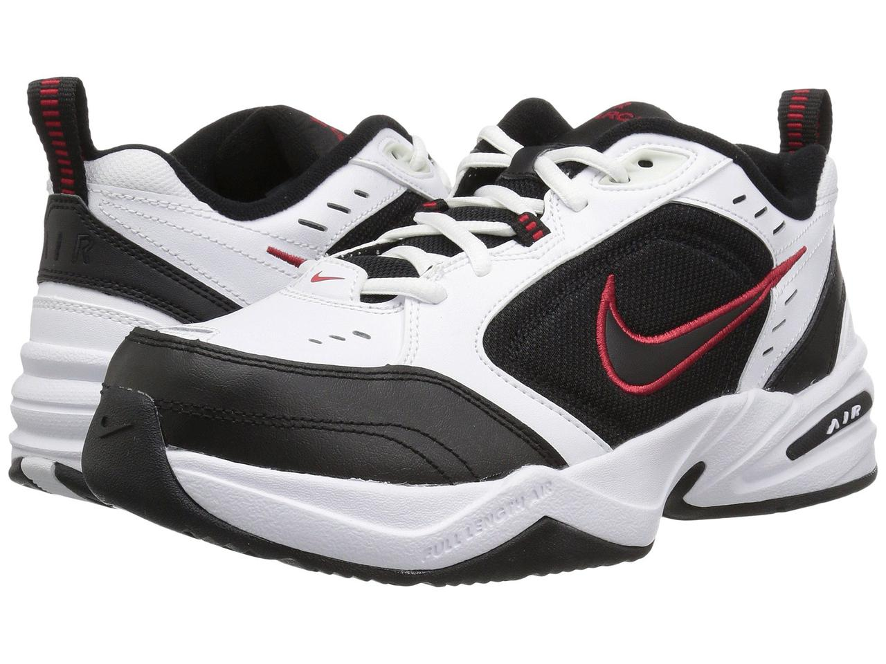 e31cf980f4f2 Кроссовки Кеды (Оригинал) Nike Air Monarch IV White Black-Varsity ...