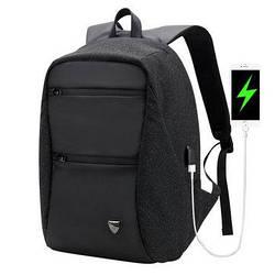 """Модный городской рюкзак с конструкцией """"антивор"""" и USB портом Arctic Hunter B00207, 26л"""