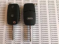 Корпус выкидного авто ключа для Audi A1, A2, A3, A4,TT (Ауди A1, A2, A3, A4,TT) 2 кнопки