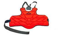 Защита корпуса (жилет) для единоборств детская ZELART 4222 (красный), фото 1