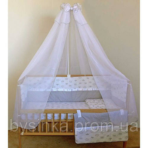 """Бортики, постель, карман в кроватку новорожденного-""""Корона"""""""