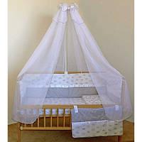 """Бортики, постель, карман в кроватку новорожденного-""""Корона"""", фото 1"""