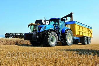 New Holland представил систему управления торможением для тракторов с прицепом