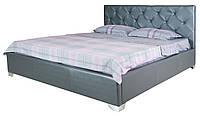 Стильная двуспальная кровать в спальню Моника