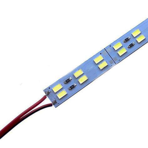 Світлодіодна лінійка SMD 5730 144 led 30W 12V 6500K (холодний білий колір)