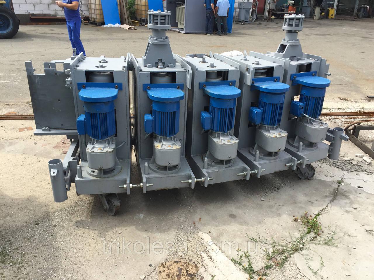 Оборудование для изготовления силосов фирмы LIPP (Germany)