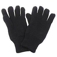 Зимние акриловые перчатки Thinsulate MFH, черные новые, фото 1