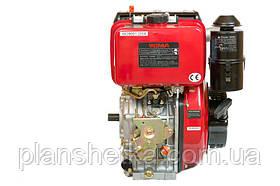 Двигатель дизельный Weima WM186FB (вал под шлицы, 9,5 л.с.), фото 3