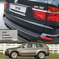 BMW Х5 E70 2007-2013 пластиковая накладка заднего бампера, фото 1