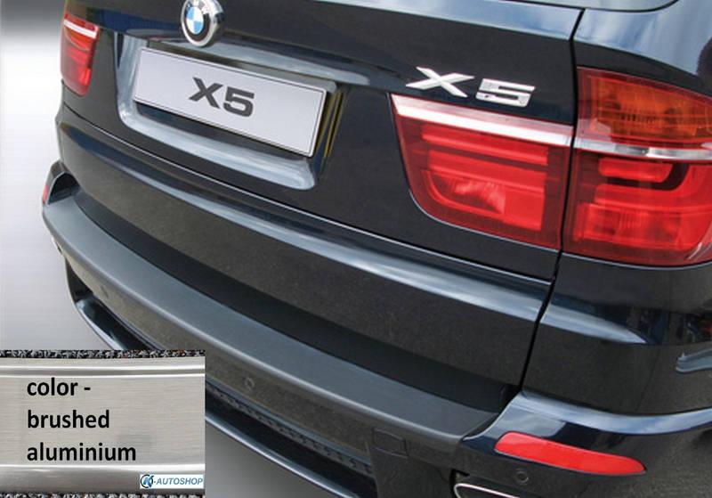 RBP4126 rear bumper protector BMW E70 X5 2007-2013 ALU