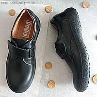 Туфли кожаные для мальчика Dexfern 35 размер