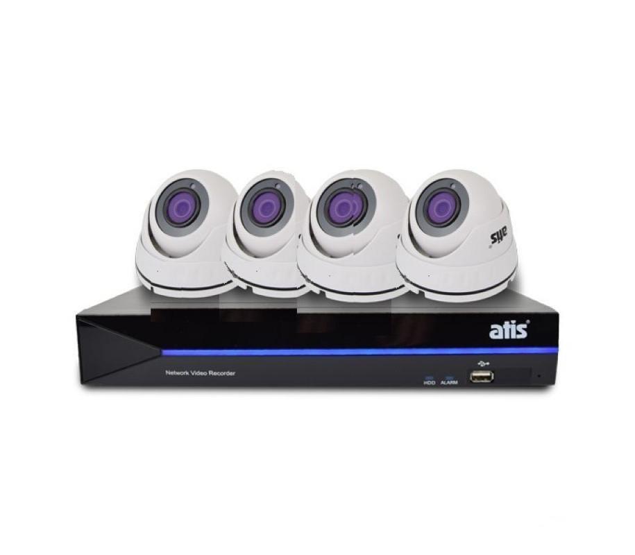 Комплект відеонагляду ATIS Starter Kit 4int (1Mp)