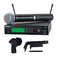 Бездротовий вокальний радіомікрофон SHURE SLX4 Beta58A, фото 1