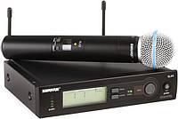 Радиомикрофон вокальный SHURE Beta58A SLX4