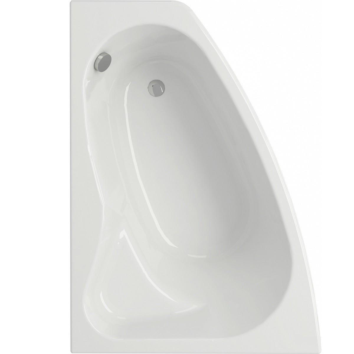 Cersanit Акрилова ванна Sicilia 150x100 см, ліва