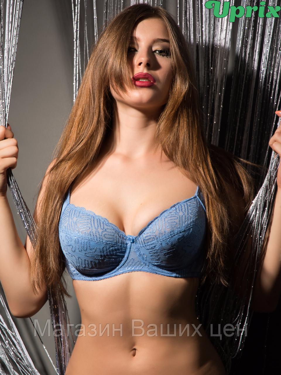 Бюстгальтер Diorella 38005E - голубой(опт)