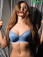 Бюстгальтер Diorella 38005E - голубой(опт), фото 1
