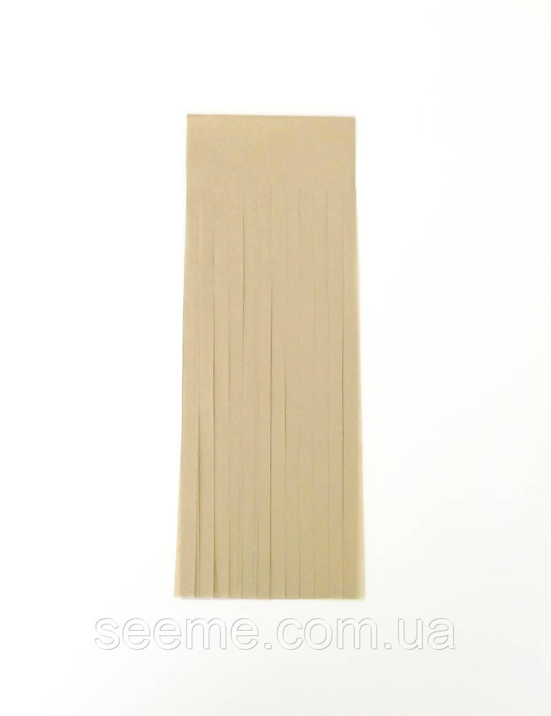 Бумажная гирлянда-кисточка из тишью «Tan», набор из 5 шт.