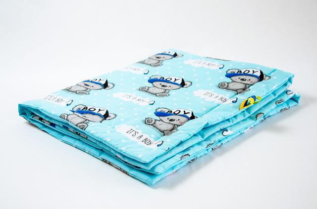 Одеяла для новорожденных хлопковые