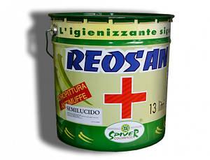 Полуглянцевая супермоющаяся акриловая краска широкого использования Reosan Semilusido