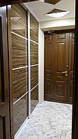 Двери-купе с глянцевыми панелями