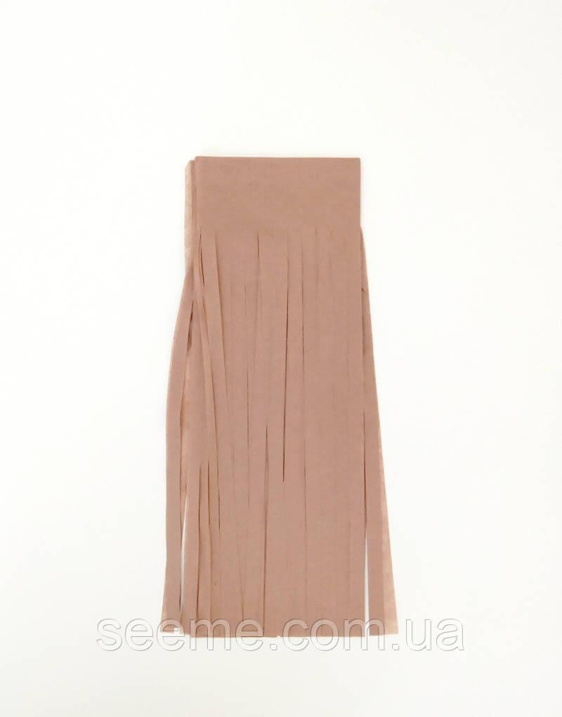 Паперова гірлянда-пензлик із тишею «Mocca», набір з 5 шт.