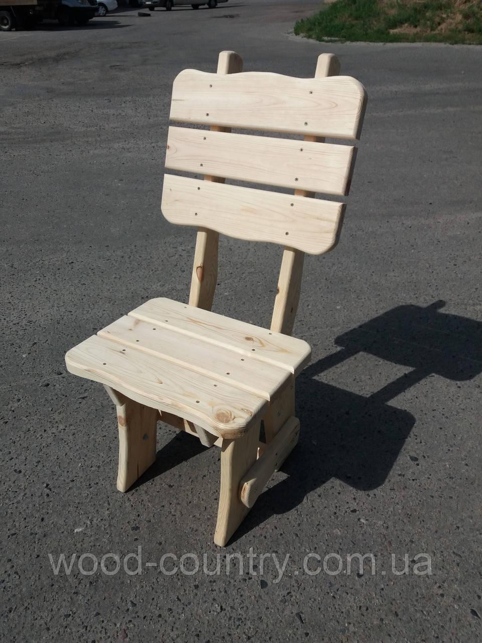 Деревянные стулья со спинкой фигурный