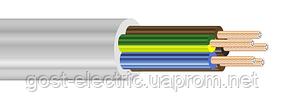 ПВС нгд 5х1,0 Провод со скрученными медными жилами в ПВХ изоляции и ПВХ оболочке (без дыма и газовыделения)