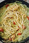 🍽 РЕЦЕПТ: Вкуснейшая паста с креветками 🍝