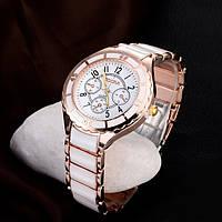 Женские часы розовое золото, фото 1
