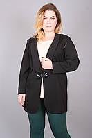 Пиджак большого размера Влада, пиджак женский, пиджак батал, дропшиппинг