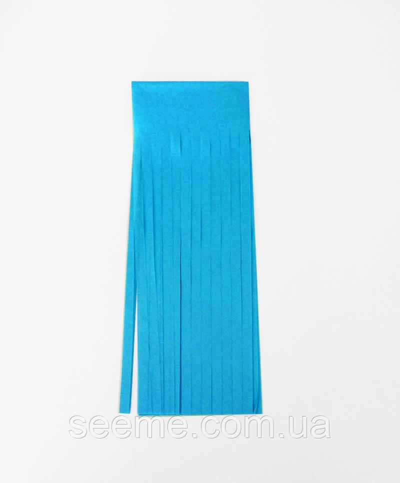 Бумажная гирлянда-кисточка из тишью «Turquoise», набор из 5 шт.